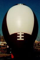globo publicitario - futbol - giant football balloon