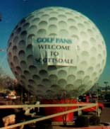 inflable publicitario - golf, giant golf ball balloon